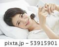 若い女性 女性 アジア人の写真 53915901