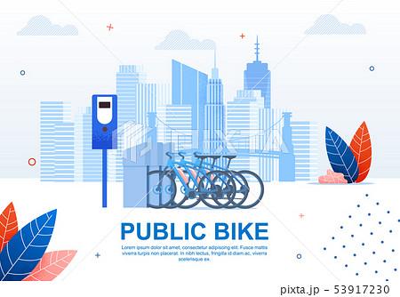 Creative Urban Transportation, Public Bike Banner. 53917230