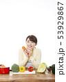 主婦 料理 53929867