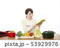 主婦 料理 53929976