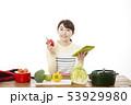主婦 料理 53929980
