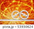 インターネット網と歯車 53930624