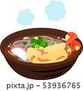 蕎麦 天ぷら蕎麦 食べ物のイラスト 53936765