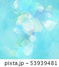 背景-夏-ソーダ-氷-ブルー 53939481