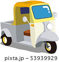 車1クラシックな三輪車 53939929