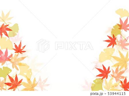 秋の紅葉といちょう 53944115