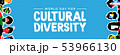 Cultural Diversity banner of country flag people 53966130