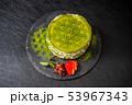 抹茶のパンケーキ (ミルクレープ) Matcha pancake Japanese food 53967343