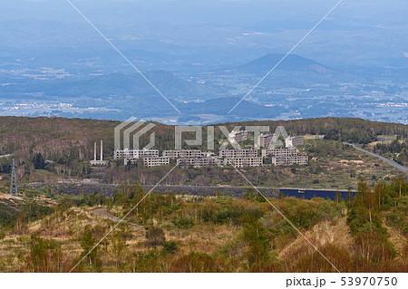【岩手県】松尾鉱山跡(アパート群 通称「陸の軍艦島」) 53970750
