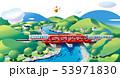 鉄橋の電車 53971830