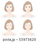女性 美容 スキンケアのイラスト 53973620