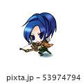 アーチャー(弓師・狩人)青髪の冒険者 53974794