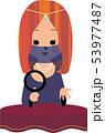 女性占い師 53977487