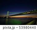 明石海峡大橋 ライトアップ 53980440