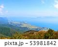 びわ湖テラスからの眺め、、びわ湖バレイ、美しい風景、滋賀県 53981842