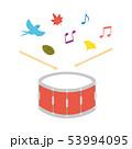 素材-楽器(小太鼓)1 53994095