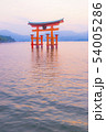 広島 宮島の風景 54005286
