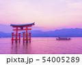 広島 宮島の風景 54005289