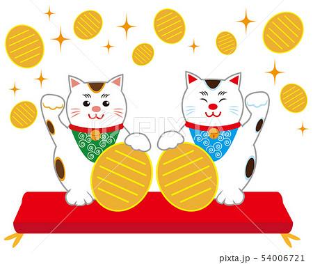 猫 招き猫 小判  54006721