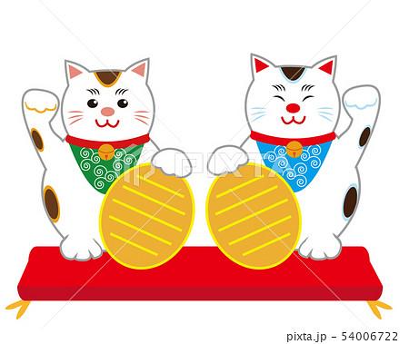 猫 招き猫 小判  54006722