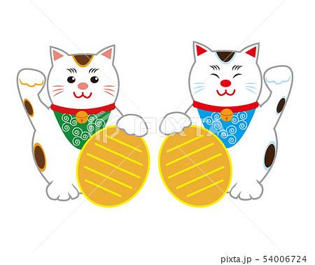猫 招き猫 小判  54006724