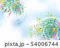 七夕 七夕飾り 背景のイラスト 54006744