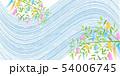 七夕 七夕飾り 天の川のイラスト 54006745