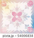 ハワイアンキルト パターン トロピカルのイラスト 54006838