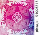 ハワイアンキルト パターン トロピカルのイラスト 54006848