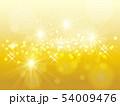 金 キラキラ 背景のイラスト 54009476
