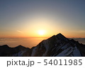 伯耆大山の日の出 54011985