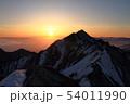 伯耆大山の日の出 54011990