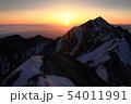 伯耆大山の日の出 54011991