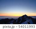 伯耆大山の日の出 54011993