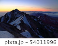 伯耆大山の日の出 54011996