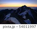 伯耆大山の日の出 54011997