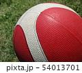 バスケットボールが晴天に 54013701