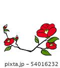冬フレーム つばき Camellia 54016232