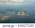 東京湾航空写真 羽田空港付近(東京) 54027295