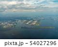 東京湾航空写真 羽田空港付近(東京) 54027296