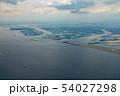 東京湾航空写真 羽田空港付近(東京) 54027298