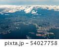 東京湾航空写真 横浜付近(東京・神奈川) 54027758