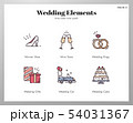Wedding elements LineColor pack 54031367