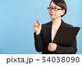 女性 ビジネスウーマン キャリアウーマンの写真 54038090
