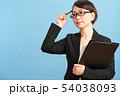 女性 ビジネスウーマン キャリアウーマンの写真 54038093