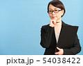 女性 ビジネスウーマン キャリアウーマンの写真 54038422