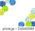 水風船 ヨーヨー ヨーヨー釣りのイラスト 54040989