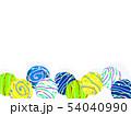 水風船 ヨーヨー ヨーヨー釣りのイラスト 54040990