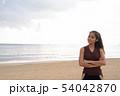 Young beautiful Asian tourist woman enjoying vacation 54042870