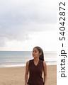 Young beautiful Asian tourist woman enjoying vacation 54042872